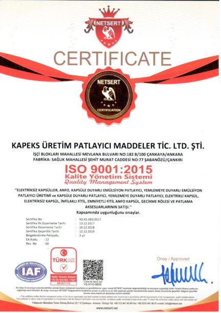 ISO-9001-2008-Sertifikası